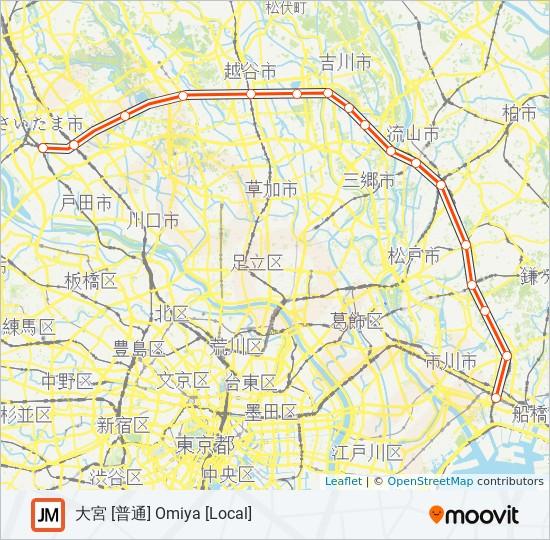 線 図 武蔵野 路線